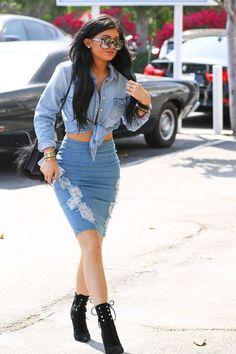 Did Kylie Jenner Steal Beyonce's Denim Look?