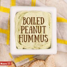 Love boiled peanuts? Try this delicious boiled peanut hummus recipe!