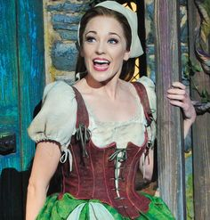 Laura Osnes - Cinderella on Broadway. I WILL figure out her quick change.