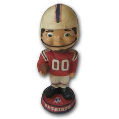 New England Patriots Throwback Bobblehead