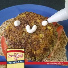 Sonríele a la vida con mayonesa Siembra Real! El acompañante ideal para las comidas rápidas, además de ser súper útil en las preparaciones que haces para llevar a la mesa...