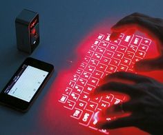 Infrared Keyboard, ideal because you can take it anywhere in your pocket!