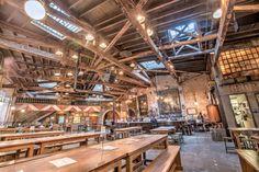 10 beer halls to check out in NYC: Radegast, Flatiron Hall, Houston Hall, Clinton Hall, Bronx Beer Hall, Bierhaus, Paulaner, Berry Park, Berg'n, Reichenbac