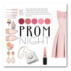 """Prom night"" by oriana-valentina-444 ❤ liked on Polyvore featuring Kjaer Weis, BCBGMAXAZRIA, Forever 21, Yves Saint Laurent, Dina Mackney, MAC Cosmetics, Prom, chic, PROMNIGHT and polyvoreeditorial"