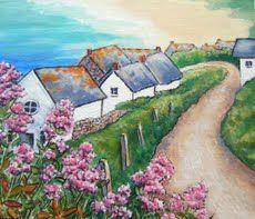 Path to Sennen Cove by Jane  Sherwood