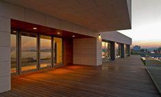 Vivienda Unifamiliar en Perbes-Miño, Galicia, España on Architecture Served. Family house. Design architecture. Terrace