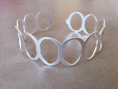 Silver Cuff Bracelet, Sterling Silver Cuff, #jewelry #bracelet @EtsyMktgTool http://etsy.me/2zOO6CE #silvercuffbracelet #sterlingsilvercuff