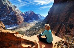 Angels Landing, Zion National Park, Utah // hiking trails, travel
