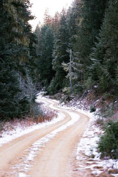 Dream Road | Road | Road Trip | Road Photo | Landscape photography | scenic | winter | snow | Drive | travel | wanderlust | on the road | empty road | Schomp BMW