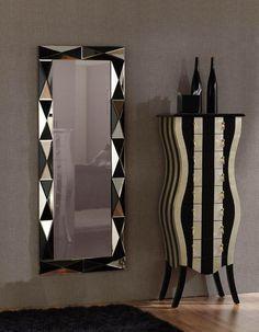 Espejos vestidores de cristal modelo BASILA. Decoracion Beltran, tu tienda online de espejos vestidores. www.decoracionconespejos.com