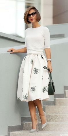 6aa3161c7b 350 Best knee length skirts images in 2019