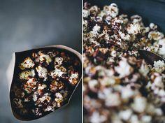 Dark Chocolate and Sea Salt Popcorn