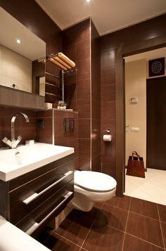 Интерьер квартиры-студии с кроватью в нише, 33 кв.м.