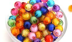 20 Perles rondes acryliques mixtes 8mm PA2016011 : Perles Synthétiques par creatist