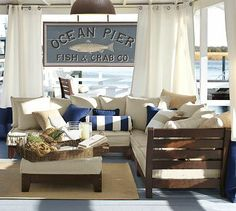 Build Your Own - Chesapeake Low Platform Sectional Components #potterybarn