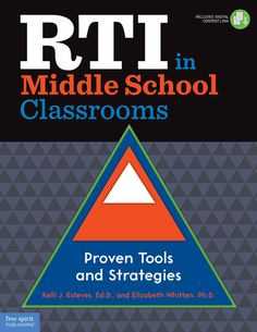 (Free Spirit) RTI in Middle School Classrooms provides practical, research-based instructional techniques and interventions—geared especially to middle school teachers and administrators—that target and address specific needs of individual students. Response to intervention allows educators to assess and meet the needs of struggling students before they have fallen too far behind.