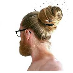 Man buns prove to be high risk to women of child bearing age.