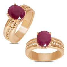 Ebay NissoniJewelry presents - Ladies Fashion Ring w/ Genuine Ruby 10k Y/Gold    Model Number:FR8854-Y0RU    http://www.ebay.com/itm/Ladies-Fashion-Ring-w-Genuine-Ruby-10k-Y-Gold-/322048735750