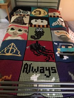 Here is all the squares I've designed so far! I was inspired by Two Heart Crochet's HP CAL to make more squares. Some were requests from ...