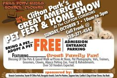 GREAT AMERICAN PET FEST & HOME SHOW - CLIFTON PARK, NY