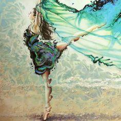 """Like Air I'll Rise"" Karina Llergo"
