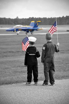Waiting for The Blue Angels