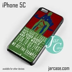 J'ONN Martian Phone case for iPhone 5C and other iPhone devices