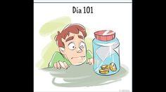 Cómics que muestran cómo cambia nuestra actitud hacia las cosas en tan s...