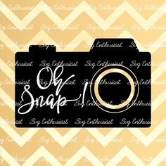Oh Snap! SVG, Photography SVG, Camera SVG, Cricut, Dxf, Png, Vinyl, Eps, Cut Files, Clip Art, Vector, Quote, Sayings by SVGEnthusiast on Etsy