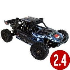 Rampage Chimera 1/5 Scale Gas Sand Rail (With 2.4GHz Remote Control)