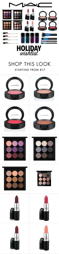 """Untitled #1173"" by krystal-thompson-1 ❤ liked on Polyvore featuring beauty, MAC Cosmetics, contestentry and 2015wishlist"