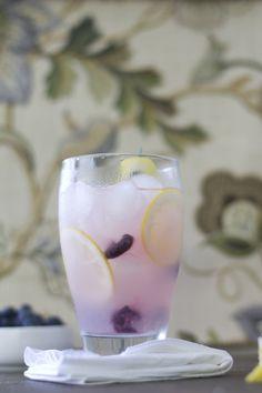 Lemon Blueberry Cooler