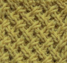 How to knit the Tight Lattice Stitch. For written instructions and more info, visit the blog: http://www.theweeklystitch.com/2012/09/tight-lattice-stitch.htm...