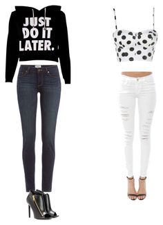 """outfit"" by alygoolsby ❤ liked on Polyvore featuring Paige Denim, Frame Denim and Tom Ford"