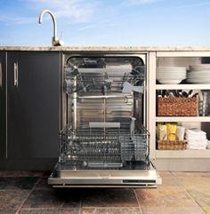 Kalamazoo Outdoor Gourmet™ introduces outdoor dishwasher
