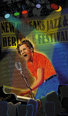2007 - 'Lewisiana: Jerry Lee Lewis' by Francis X. Pavy.