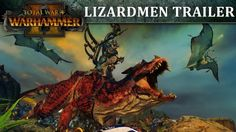 Total War: Warhammer 2 shows in action the Lizards PC