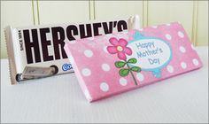 """Mother's Day Ideas Candy Bar Wrappers """"Lullaby"""""""