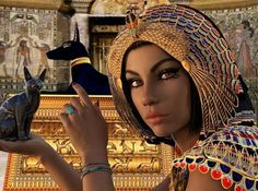Queen Nefertiti, the ancient Egyptian Queen, has elevated herself into a goddess status in today's m Isis Goddess, Egyptian Goddess, Cleopatra, Art Magique, Ancient Goddesses, Queen Nefertiti, Egyptian Queen, Egyptian Cats, Archetypes