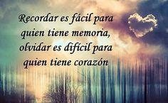 ¡Bien dicho!, Gabriel García Márquez. :) (Foto a través de «frases del día»: http://frases-del-dia-7.blogspot.com.es/2013/01/recordar-es-facil-para-quien-tiene.html)
