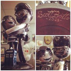 ScottBott wedding cake topper