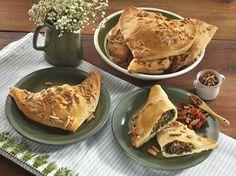 Foodprep/Mittagessen in der Arbeit: Rezept für Veganes Pizzagebäck mit getrockneten Tomaten udn Spinat Schmeckt auch kalt ;)
