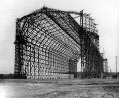 Hindenburg hanger  via