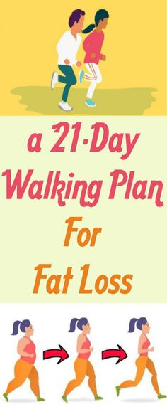 A 21-Day Walking Plan For Fat Loss - Fashion Is My Petition