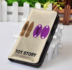 Woody and Buzz's Boot Toy Story | Disney | Custom wallet case for iphone 4,4s,5,5s,5c,6,7 and samsung galaxy s3,s4,s5,s6 - LSNCONECALL.COM