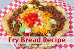 Our family's favorite! Looking for an easy and inexpensive fry bread recipe? You can make these traditional or quick fry bread by rolling out Grands biscuits. Click here to get this yummy #recipe from Dining On A Dime Cookbook http://www.livingonadime.com/navajo-fry-bread/ .