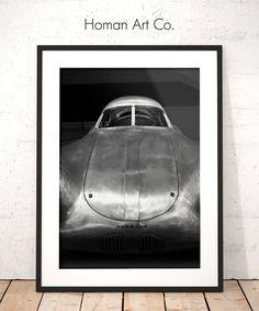 The Original Auto Clic Car Decor Wall Art Black White Photography Printable Instant Digital