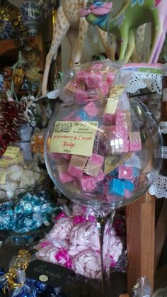Mouthwatering confectionery...