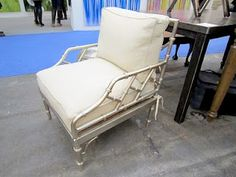 Nickle Chrome Bamboo Chair, I have a crush on you....too bad they don't make these anymore...