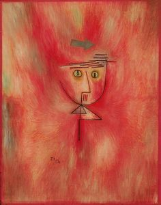 Paul Klee - Nearly Hit - 1928